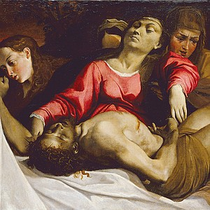 The Lamentation by Carucci