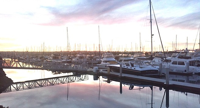 Cabrillo Marina. Harbor Patrol conducted CPR and were able to bring the subject back to life.