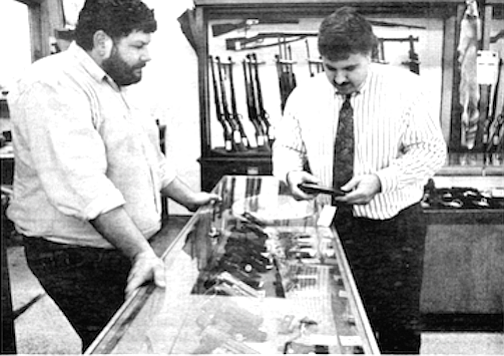 The owners of Krasne's, debunk the notion that aficionados of Soldier of Fortune account for anything but a tiny part of their regular clientele.