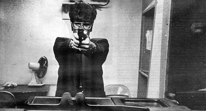 Target-eye view. Twelve million women own guns in the United States.