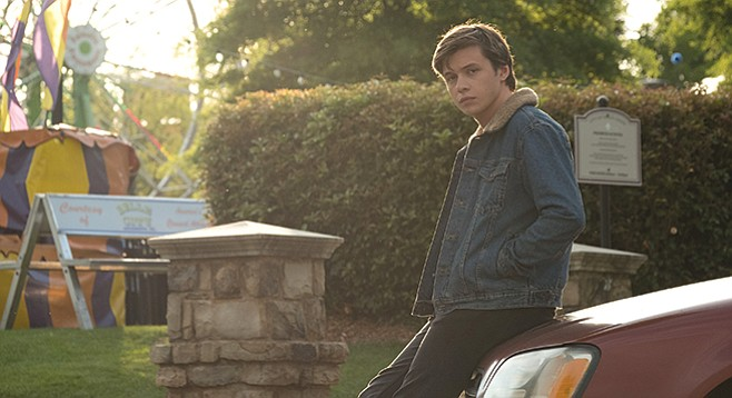 Love, Simon: That soft-focus ferris wheel behind Nick Robinson is highly significant.