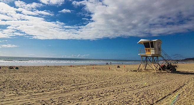 Mission Beach In The Off Season San Diego Reader