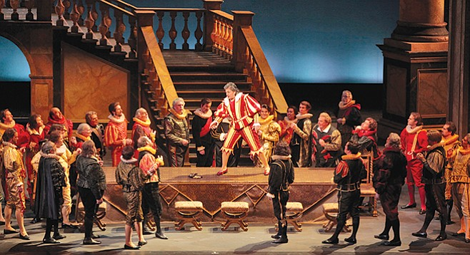 Verdi's Rigoletto is one of the most frequently performed operas.