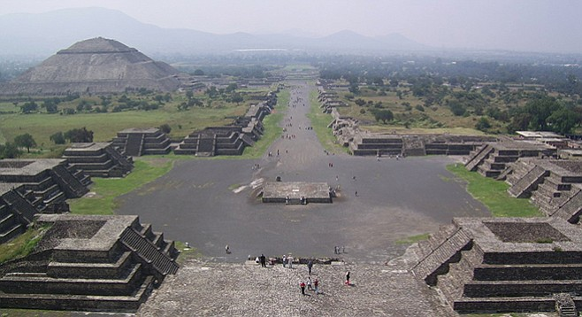Teotihuacan — for five centuries the most populous city in the Americas