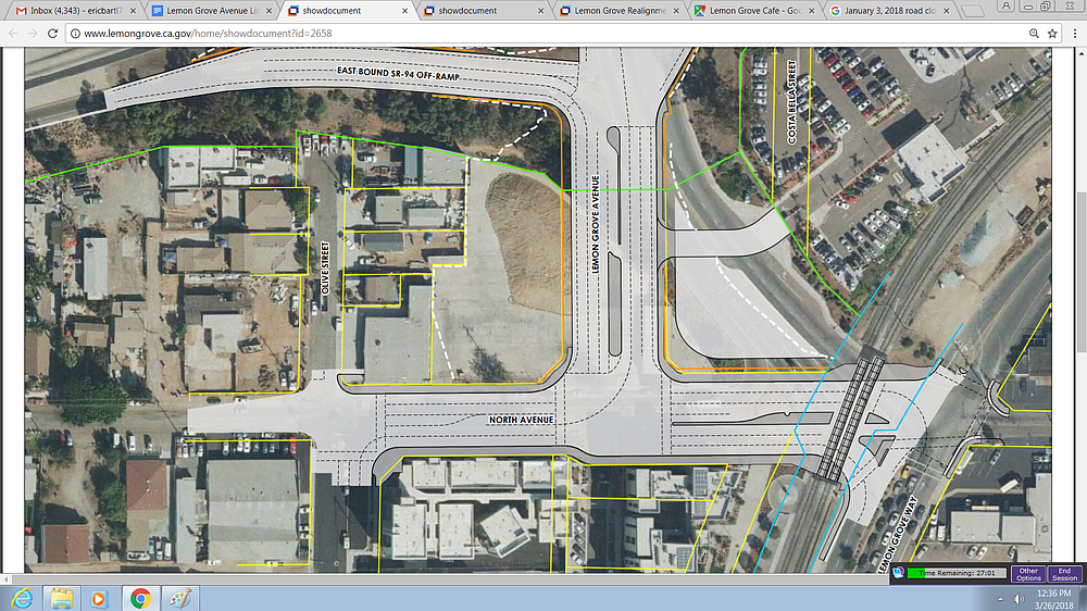New street alignment
