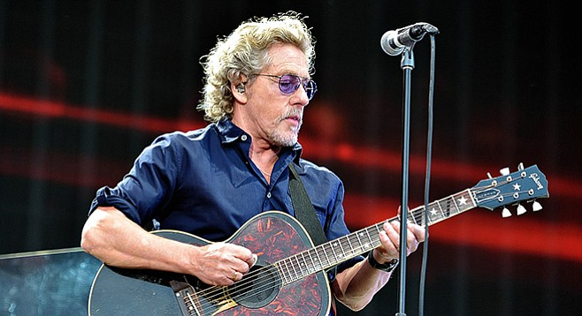 Roger Daltrey — blitzing the media