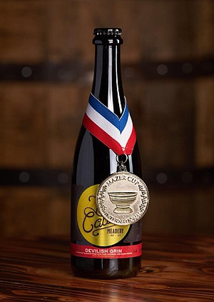 Lost Cause Meadery won silver at the prestigious Mazer Cup with Devilish Grin.