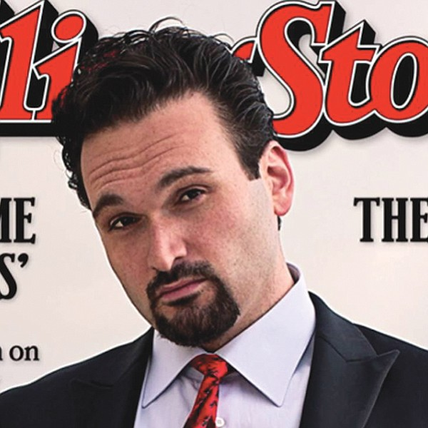 Nemr on cover of Rolling Stone