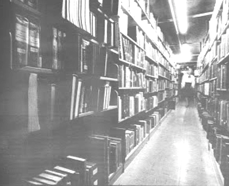 Shelves, current library