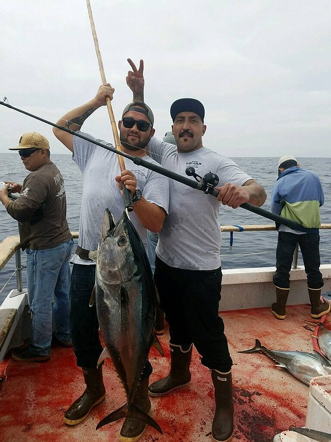 Nice bluefin tuna for Easter! - Image from New Lo-An Sportfishing.
