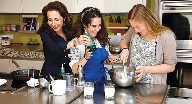 Harvard Cooking Camp: their own three-course meal plus food etiquette