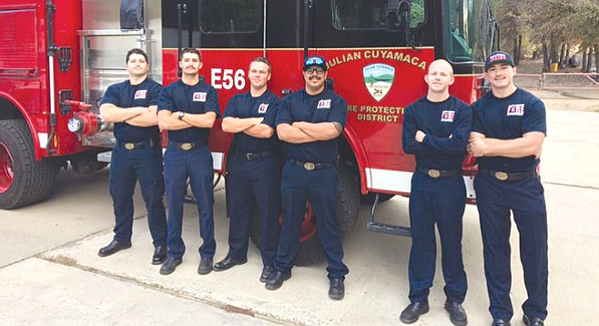Julian Cuyamaca Fire Protection District is the last volunteer fire department in San Diego County.