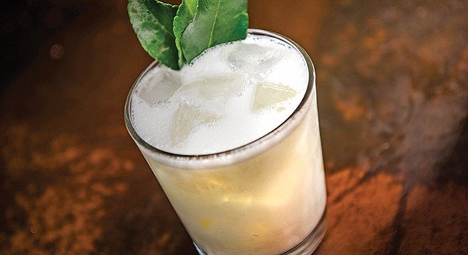 """Prohibition's new menu """"is all about our travels around the world,"""" says Wetherbee."""