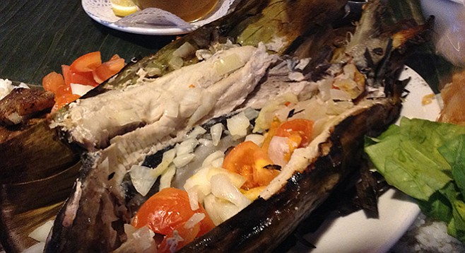 Bangus, the Philippines' national fish, aka Milkfish