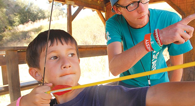 Camp Marston: the teens will work with the 7-11-year-old campers.