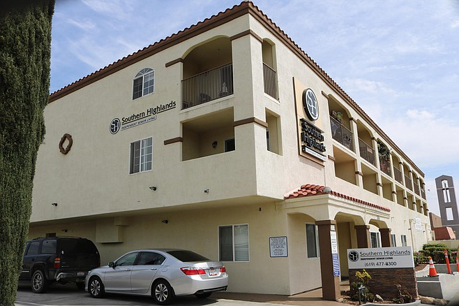 Southern Highlands is an independent-living apartment building for seniors constructed in 1999
