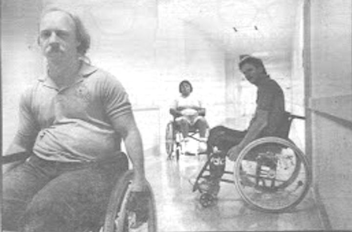 Patients at VA Medical Center