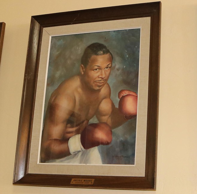 "Archie Moore ""usually ordered the chicken pie and coleslaw."""