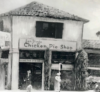 Restaurants that predated the pie shop are the Waterfront Bar, Las Cuatro Milpas, and Tobey's 19th Hole Cafe.
