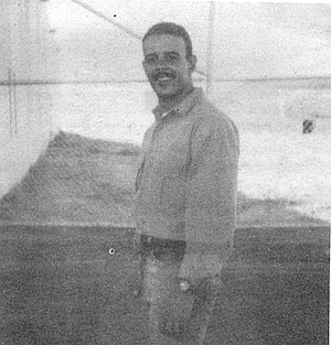 Billy Helton, 1989. Three months before he was murdered, Helton sent his mother a letter from the Donovan Prison.