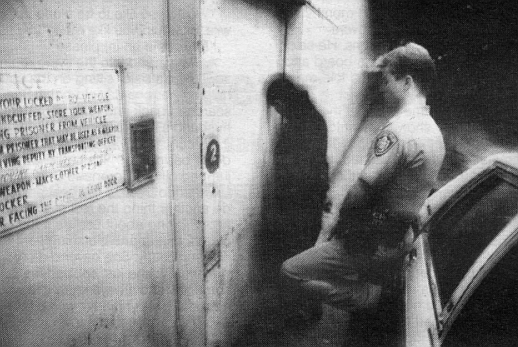 County Jail entrance
