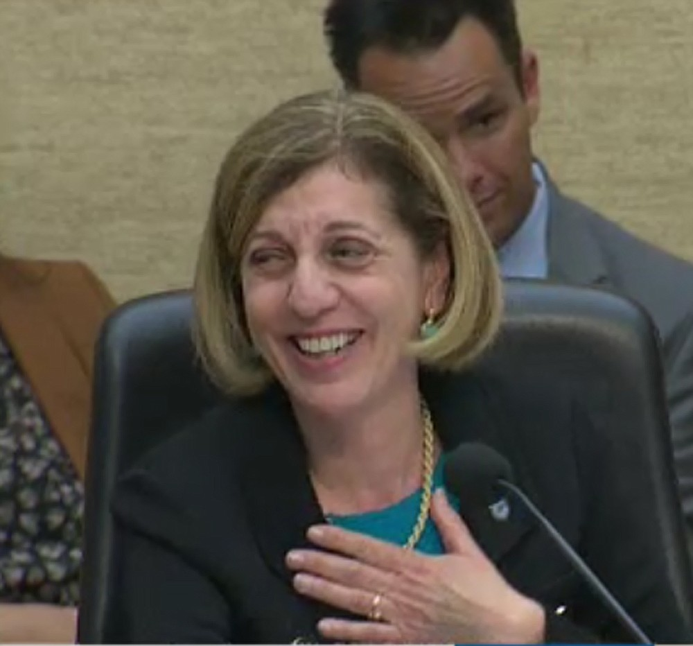 "Barbara Bry: ""Well, that was like in a different language than English."""