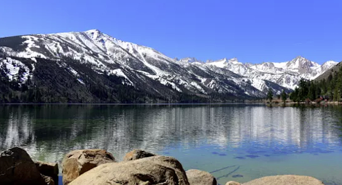 Bridgeport's Twin Lakes. State records for brown trout have come out of Twin Lakes.