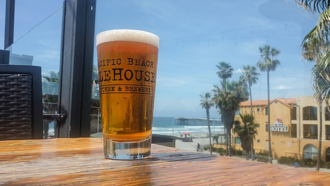 It's more about the beach view than the beer view, but PB Ale House has improved its beer program.