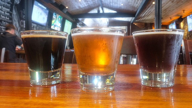 The stout, blonde, and red are the most popular.