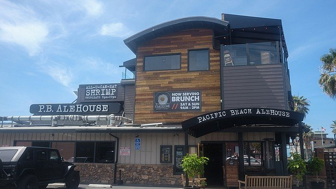 PB Ale House returned from a 2015 fire.