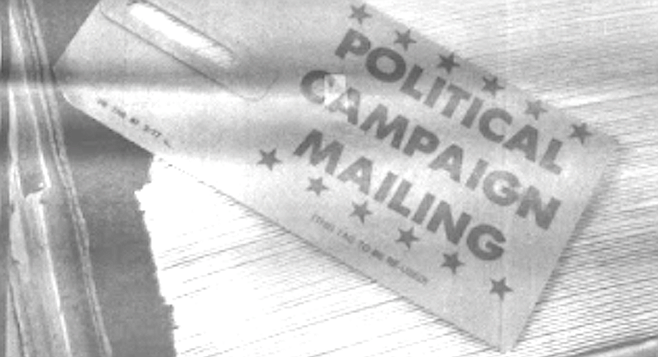 """Tribune editorial writer Ralph Bennett: """"The tide of junk mail has risen to flood stage."""""""