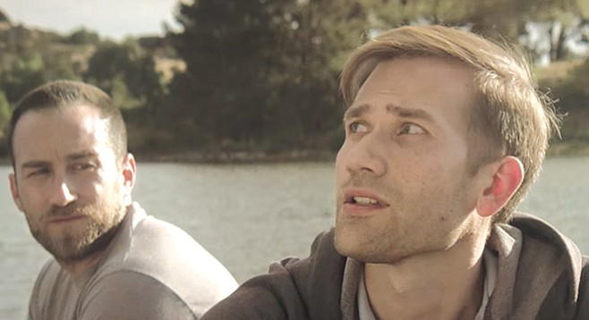 Helix High alumnus Justin Benson and Aaron Moorhead in a scene from The Endless.