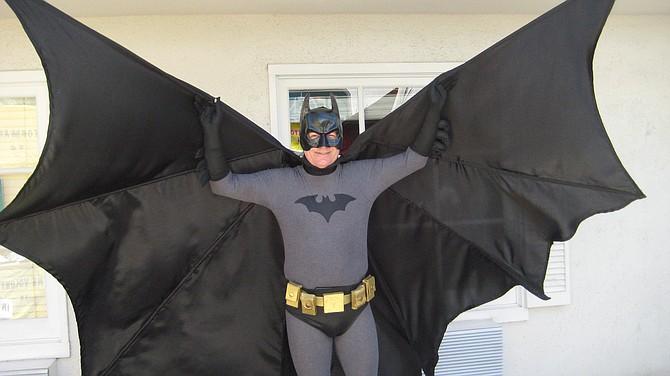 San Diego Comic Fest 2018, Batman from the Year One comics - http://sandiegocomicfest.blogspot.com
