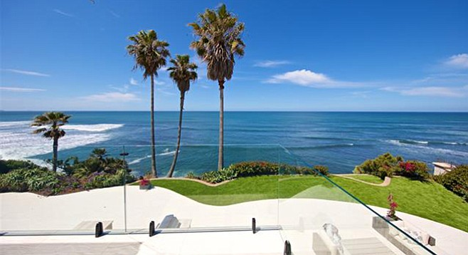 Previous owners at 5490 Calumet Avenue in La Jolla were more interested in  mortgage fraud than ocean views.