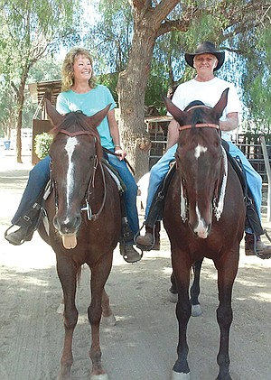 """""""Ray was a horseman, a cowboy,"""" says Joy Jeffrey."""