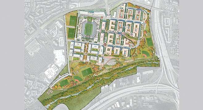 Mission Valley site plan
