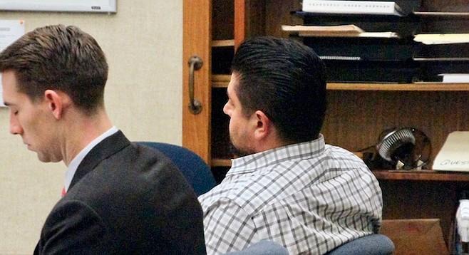 Defense attorney John Wilschke and defendant