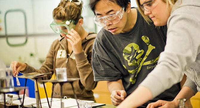 San Diego was also unable to show that the school's labs complied with state regulations.