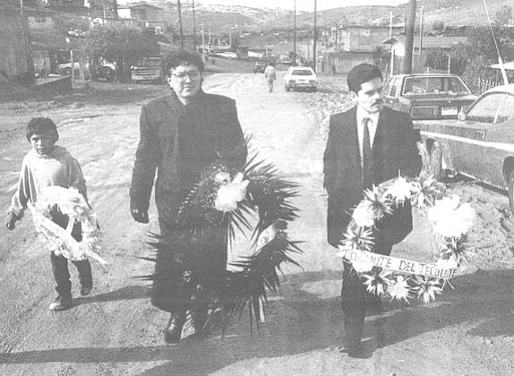 Dr. Carlos Diaz (center), Emilio (right)