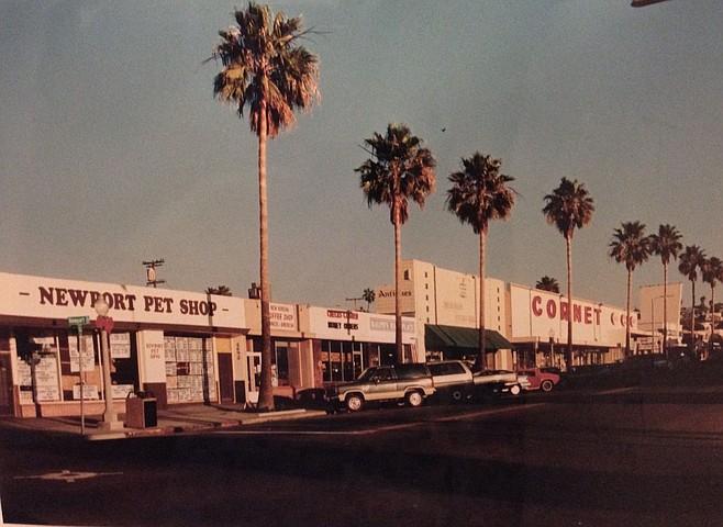 Cornet five-and-dime, Newport Avenue, circa 1980s (Tracy Fish)