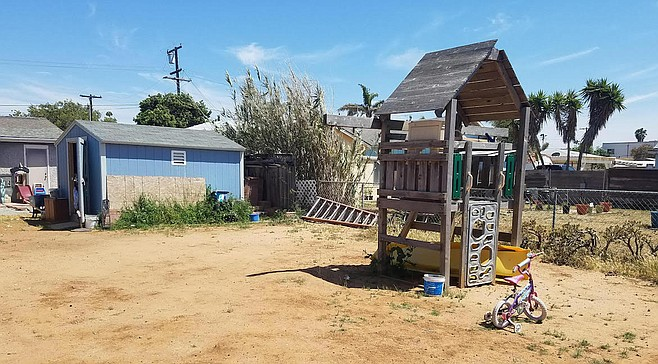 """Kelly Leiker: """"My husband has slowly been fixing up the yard for us to enjoy come summer."""""""