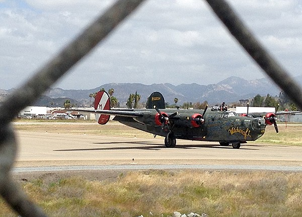 The B-24, designed and built right here in San Diego