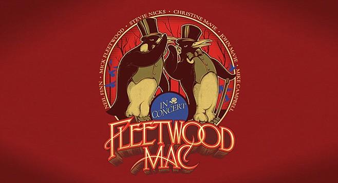 Fleetwood Mac —minus Buckingham, plus Campbell and Finn