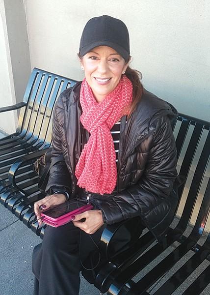 "Joanna Moctezuma: ""The old bus stop's shelter was too short and narrow."""