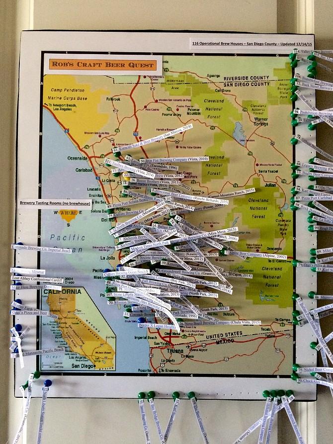 san diego brewery map pdf