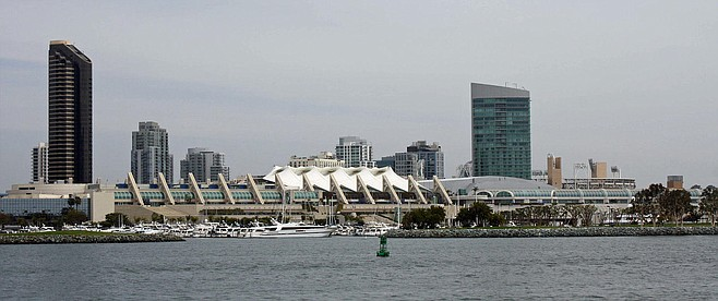 San Diego Convention Center. Pro-convention center expansion forces could be forced to return to the city council.