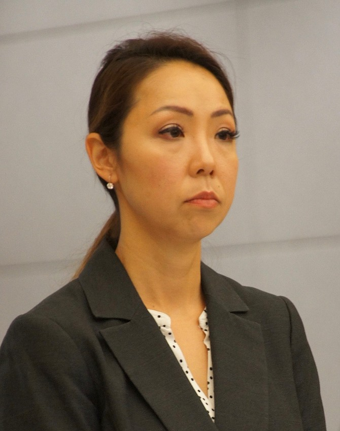 Prosecutor Helen Kim. Photo by Eva.