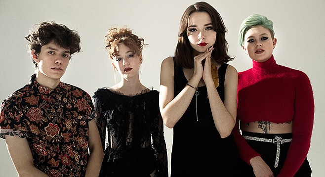 Regrettes — female-fronted punk