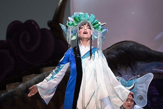 Lise Lindstrom in SDO Turandot. Photo credit: J. Katarzyna Woronowicz Johnson