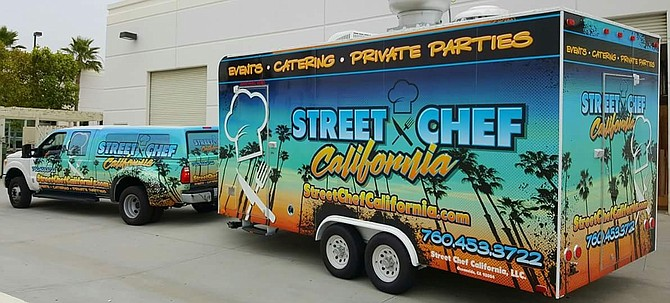 Street Chef California Catering Truck